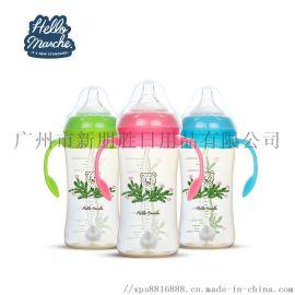 廠家直銷PPSU嬰幼兒寬口奶瓶
