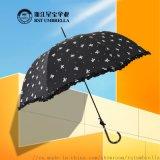 RST外貿出口女式蝴蝶結百褶花邊   晴雨傘
