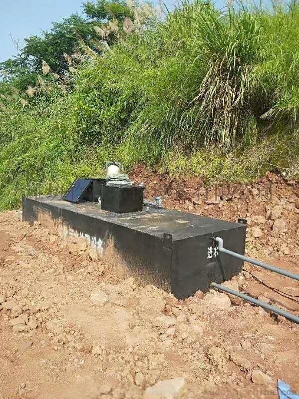 生活污水一体化污水处理设备排放