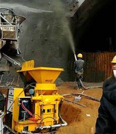 浙江湖州可喷商混料湿式混凝土喷射机组