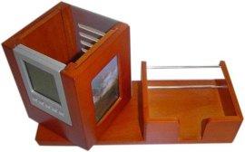 木制多功能笔筒 (OL-R02A)