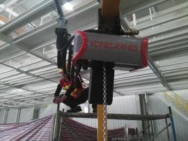 科尼低净空电动钢丝绳葫芦,SWF低净空钢丝绳葫芦,进口钢丝绳葫芦