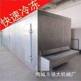 水饺流态化速冻机 【循环风冷】馄饨速冻机