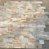 貴州大量批發 廠家直銷 黃木紋黃白色 暖色系文化石 黃木紋文化石