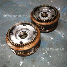 直销单梁起重机行车轮 LD400轮 起重机驱动装置