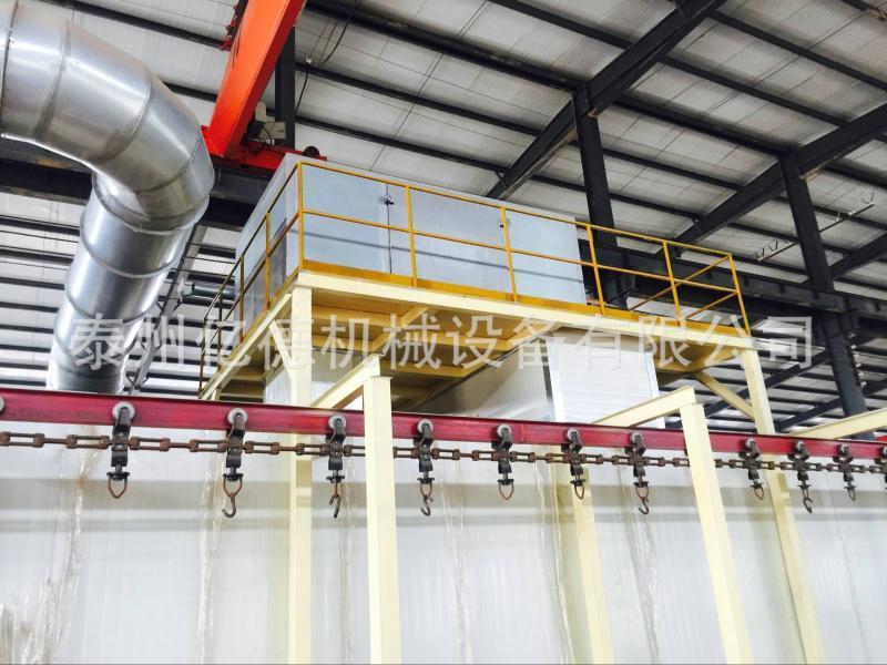 供应自动化喷塑涂装生产线输送设备 自动传送喷漆流水线设备