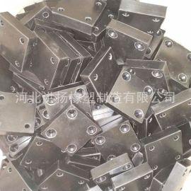 橡胶减震垫块 耐磨方形橡胶垫块 方形橡胶防撞块