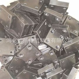 橡膠减震垫块 耐磨方形橡膠垫块 方形橡膠防撞塊