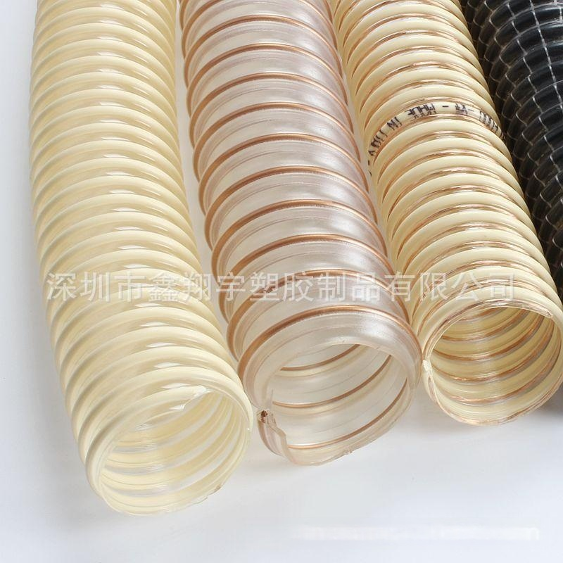 耐磨防静电吸尘软管, 进口食品级输送管, 透明塑料软管