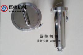 卫生级快装过滤器-角式管道过滤器(中头螺母或卡箍)