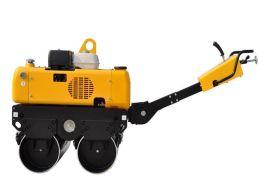 供小型汽油/柴油动力手扶双钢轮压路机RWYL34B/34BC