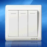 HR6C-031三开单控墙壁开关(HR6C-031)