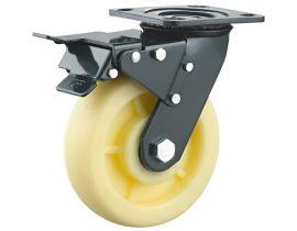 重型双轴电泳(花纹)尼龙轮