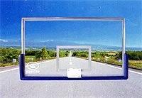 FJ-035 钢化玻璃篮板