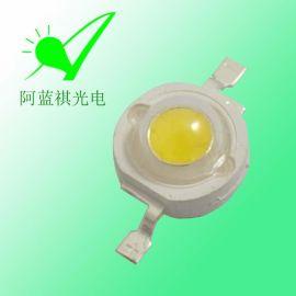 1w大功率led灯珠 普瑞 120-130LM 350mA