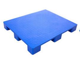 乐山九脚平板塑料托盘,叉车防潮塑料托盘1210