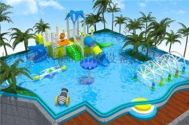 玻璃钢水滑道水上乐园水上滑梯室外水上滑梯游乐园设备