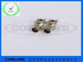 3G-SDI双联BNC金属全**视频连接器