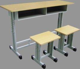 【优质】厂家供应  课桌椅 学生桌 双人桌椅 单人课桌 学习桌