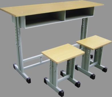 【**】厂家供应学校课桌椅 学生桌 双人桌椅 单人课桌 学习桌