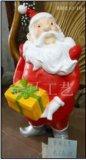 供应 圣诞节工艺礼品饰 品雕塑树脂圣诞老人