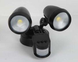 LED双头感应灯