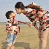 2夏季防晒衣女长袖连帽薄款防紫外线亲子装母女迷彩儿童防晒服外套批发