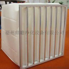 厂家供应鼎瞻净化空气过滤器 中效过滤袋 合成纤维过滤器