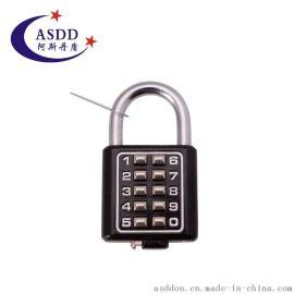 厂家直销密码挂锁 箱包锁 拉杆箱金属密码锁 行李密码挂锁