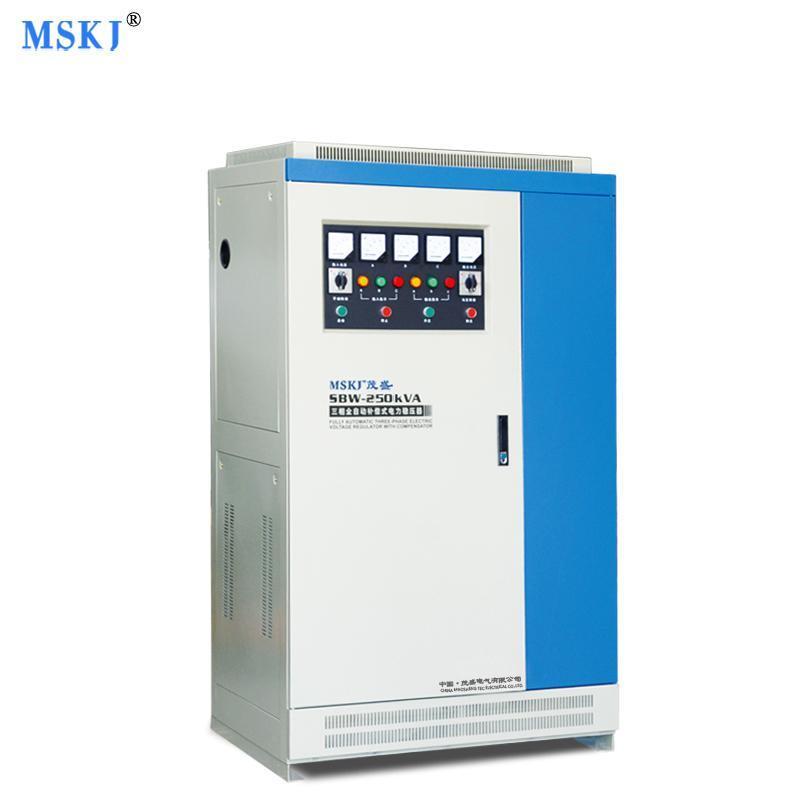 振凱電源直銷SBW三相250KW/250KVA大功率全自動補償式煤礦穩壓器