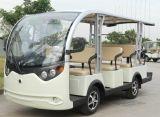 銷售山東電動觀光車威海14座觀光車樓盤看房車老年代步車旅遊觀光車出租維修