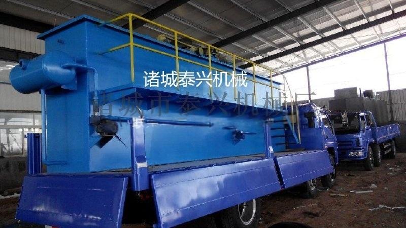 污水處理設備溶氣氣浮機        諸城泰興機械