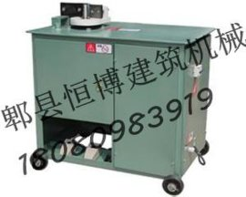 郫县恒博建筑机械租赁站对外出租及维修钢筋弯箍机