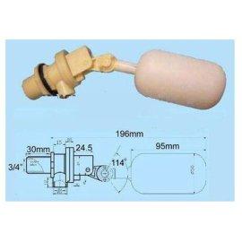 厂家直销供应塑料常温可调式环保空调塑料浮球阀