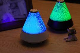 创意新款多彩小夜灯蓝牙音响 LED台灯无线礼品迷你音箱 音质超好