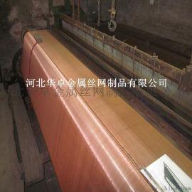 华卓供应2.8米宽紫铜网 100目磷铜网 屏蔽网