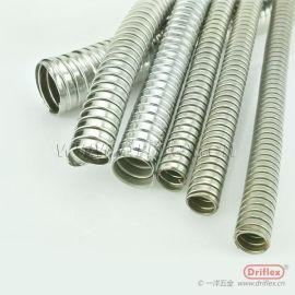 成都一洋五金 不锈钢穿线软管 双勾电线电缆保护软管