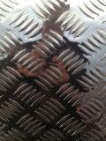 1060花纹铝板 指针型花纹铝板 压花镜面铝板
