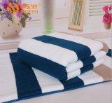 廠家直銷純棉條紋沙灘巾外貿柔軟吸水毛巾被全棉毛巾毯空調被