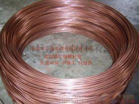 东莞巨盛专业生产红铜铆料线  汽车电瓶正负极连接头端子用红铜线 质量保证