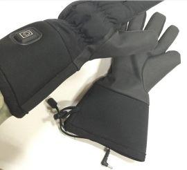 唯米冬季发热手套保暖摩托车手套 骑行手套防寒保暖 加厚保暖手套 可充电
