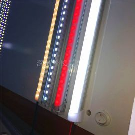 深圳厂家直销 LED5730防水硬灯条 LED线条灯高亮单颗0.5瓦 50-55LM