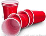 一次性2OZPP、PS紅白杯子雙色杯子
