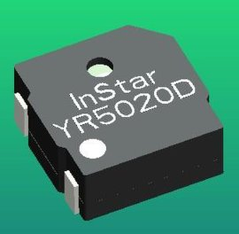 电磁式无源贴片蜂鸣器(YR5020D)