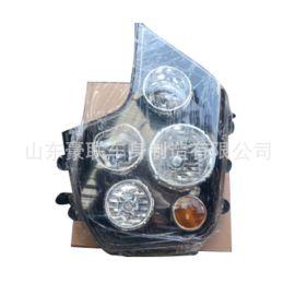 重汽豪沃T7H駕駛室 大燈總成 電調大燈 手調大燈廠家直銷價格圖片