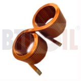 供应扁线双胞胎线圈 大尺寸扁线线圈 电感线圈