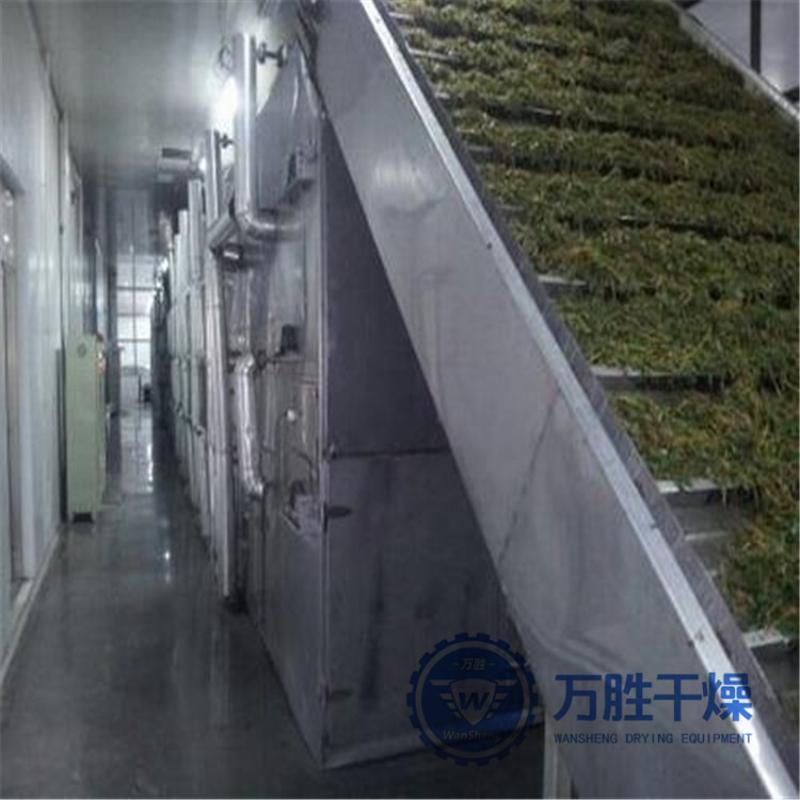 翻板烘干机网带式干燥设备定制DW单层多层网带式干燥机
