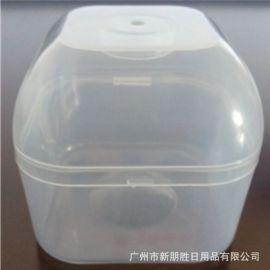 宽口PP塑料奶嘴盒 防尘便携式安抚奶嘴盒子