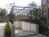 廊道車棚採光頂專用陽光板卓尼廠家供應