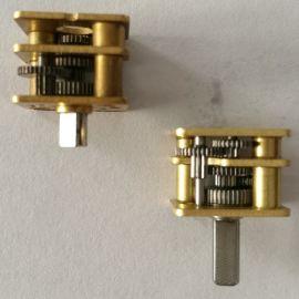 微型减速器 小模数齿轮箱 金属齿轮加工